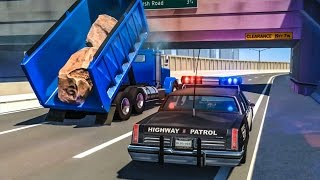 EPIC POLICE CHASES #5 - BeamNG Drive Crashes