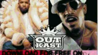 outkast - pink & blue - Speakerboxxx  The Love Below