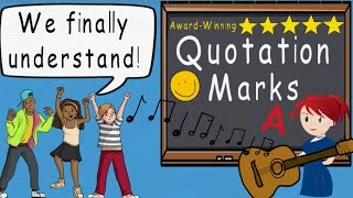 Quotations Song (Quotation Marks by Melissa) | Award Winning Quotation Mark Educational Song