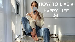How to stay calm & live a happy life - November vlog
