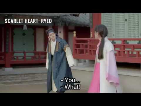 Baekhyun and iu  scarlet heart  moon lovers