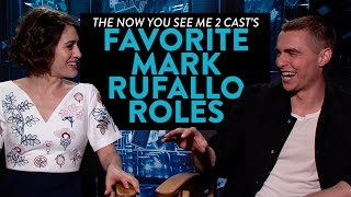 The Now You See Me 2 Casts Favorite <b>Mark Ruffalo </b>Roles