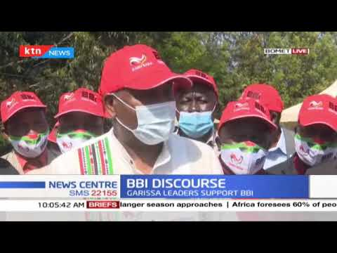 BBI Discourse: Garissa leaders support BBI, Gideon Moi in Bomet for BBI sensitization exercise