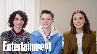 Find Out Which 'Stranger Things' Cast Member Has The Best Laugh | Entertainment Weekly