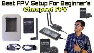 FPV Setup - Best FPV Setup for Beginner's - কম খরচে সবচেয়ে ভালো FPV - Mini FPV