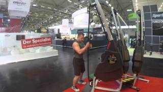 Marpo Kinetics 360 Rope trainer Physical Therapy Applications