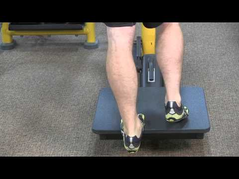 Single Leg Calf Raises : Fitness & Exercise Tips