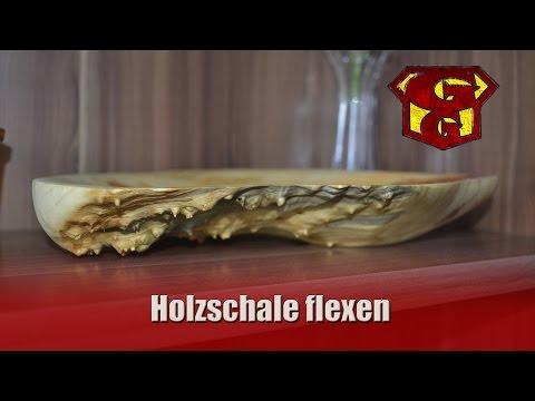 Holzschale flexen - Garagengurus #15