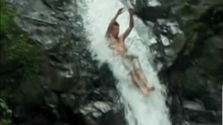 KRA-Z WATERFALL JUMPING!