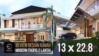 Video Desain Rumah Modern 2 Lantai Ibu Hani di  Bogor, Jawa Barat
