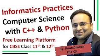 Free Learning Platform for CBSE Students-Informatics Practices, Computer Science with C++/Python - Download this Video in MP3, M4A, WEBM, MP4, 3GP