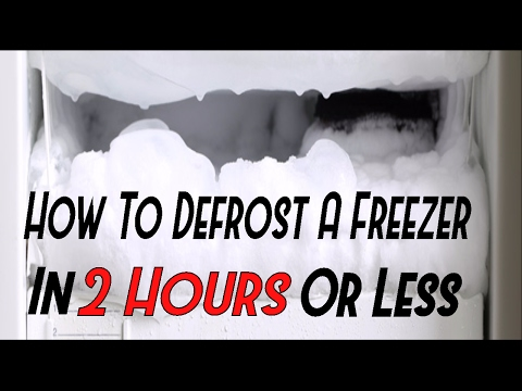 How To Defrost Your Freezer In 2 Hours or Less