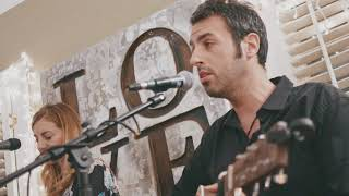 """Less"" Ari Hest & Chrissi Poland @ The Backyard Stage - Greensboro, NC"