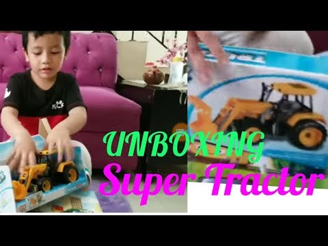 UNBOXING : Tractor Baru |SUPER TRACTOR |Video VIDEO FOR KIDS