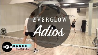 "EVERGLOW ""Adios"" Dance Tutorial (Chorus, Ending)"