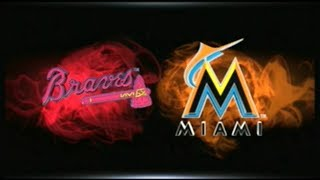 MLB 15 THE SHOW_BRAVES AT MARLINS (2018) GM # 32
