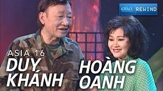 «ASIA 14» Liên Khúc Lính - Hoàng Oanh & Duy Khánh [asia SOUND]