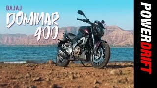 All you need to know about the Bajaj Dominar 400 : PowerDrift