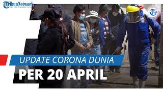 Update Corona Dunia per 20 April 2021: Kasus Aktif Turun Jadi 18,2 Juta, Total 142,6 Juta Terinfeksi
