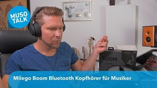 Bluetooth Kopfhörer fürs Musik machen ? - Miiego Boom Bluetooth UND Kabel