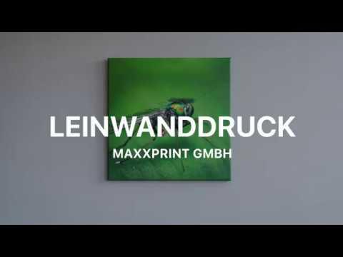 Leinwanddruck bei MaXxPrint