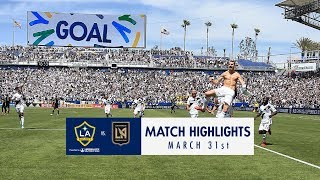 HIGHLIGHTS: LA Galaxy v. LAFC | March 31, 2018