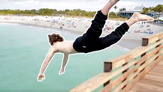 Pier Jumping with Danny Duncan!