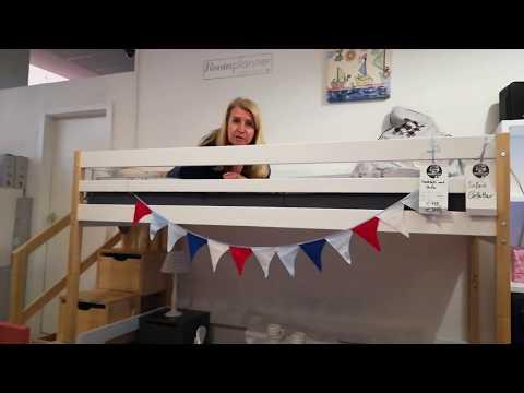Dannenfelser Kindermöbel GmbH | Hochbett BENSON mit Treppenregal - 90x200cm - JETZT NUR: 799,-€