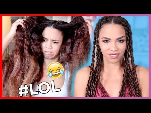 EASY Natural Hair Twist Out Tutorial ! The Greatest Natural Hair Tutorial Ever LOL