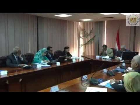اجتماع الوزير/طارق قابيل مع وزير البيئة و خبراء برنامج تحسين كفاءة الطاقة بالتعاون مع منظمة اليونيدو