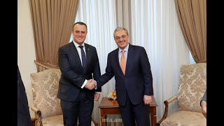 Foreign Minister Zohrab Mnatsakanyan's meeting with the Australian parliamentary delegation