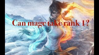 Darkness Rises | Can mage take rank 1?