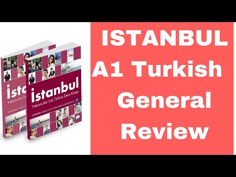 Turkish Book: Istanbul A1 General Review
