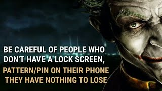 9 Ultimate Joker Quotes About Fake Friends-1  The Dark Knight