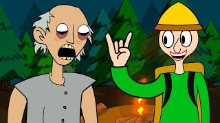 GRANNY THE HORROR GAME ANIMATION #13 : BALDI
