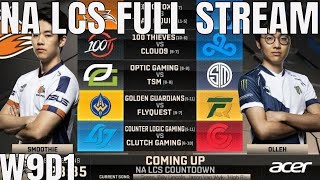 NA LCS Week 9 Day 1 Full Day Stream - NALCS W9D1 All Games
