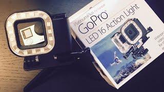 Gopro LED Light Review