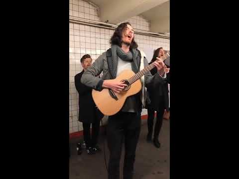 "Hozier - ""Almost (Sweet Music)"" Live In The NYC Subway - Columbia Records"