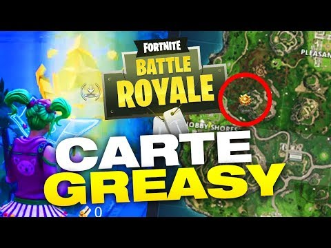TUTO FORTNITE : CARTE AU TRESOR GREASY GROVE