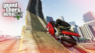 CRAZY GTA 5 RAMP STUNTS! - (Stunt Course)