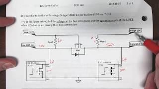 I2C Level Translator Operation