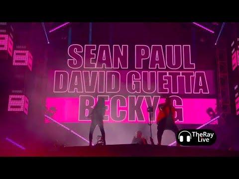 David Guetta Amp Sean Paul Ft Becky G Mad Love Ultra Music Festival 2018