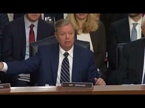 Sen. Lindsey Graham Rips Democrats for 'Hypocrisy' During Brett Kavanaugh Hearing