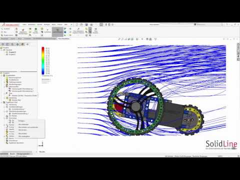 SOLIDWORKS - von der Idee zum Produkt: Teil 4 Flow Simulation