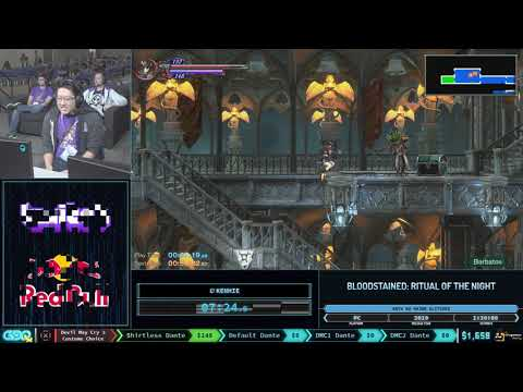 Bloodstained: Ritual of the Night by Kenhie in 59:11 - GDQx 2019