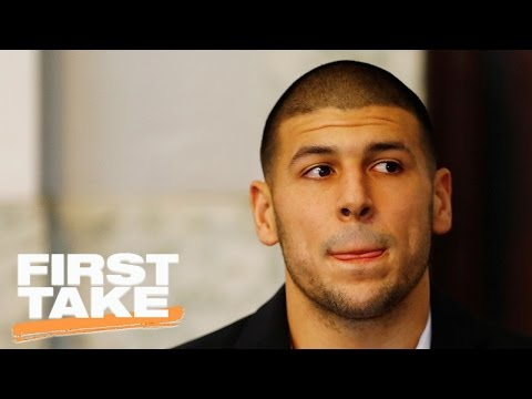 First Take Discusses CTE & Aaron Hernandez Suicide | First Take | April 21, 2017