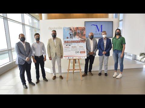 Presentación del Campus Provincial de Baloncesto Diputación de Málaga 2021