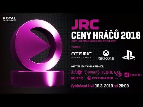 JRC CENY HRÁČŮ 2018 - Živý přenos