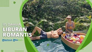 Iis Dahlia Bersama sang Suami Menikmati Liburan di Bali, Keduanya Tampak Romantis Bak Pengantin Baru