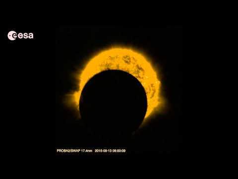 Proba-2 partial solar eclipses